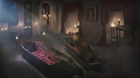 Ben trong lau dai co that cua Ba tuoc Dracula hinh anh 8