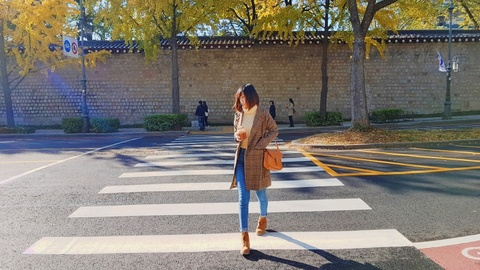 #Mytour: Trai nghiem mua thu Han Quoc dep nhu tranh cua co gai Viet hinh anh 17