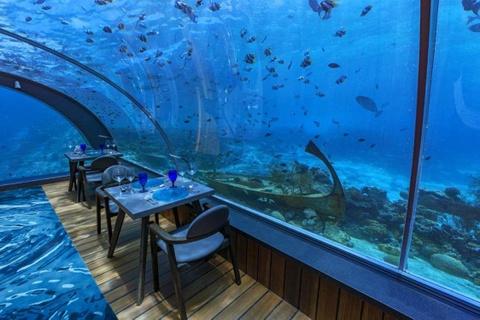 10 nhà hàng dưới nước