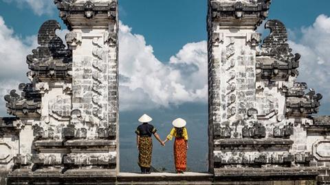 Check-in cong thien duong huyen bi o Bali hinh anh