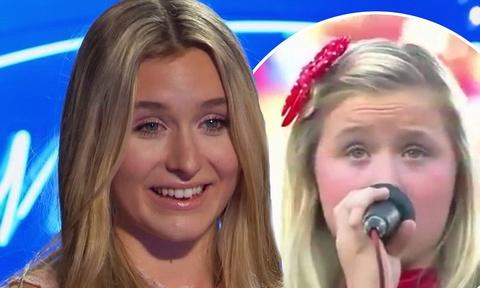Tham hoa hat quoc ca My gay 'sung so' tai American Idol hinh anh