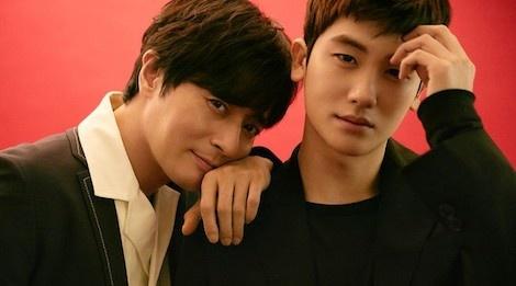Jang Dong Gun dep lan at dan em Park Hyung Sik tren bia tap chi hinh anh