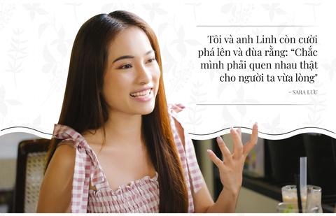 Sara Luu: '6 thang yeu Duong Khac Linh, toi da nghi toi hon nhan' hinh anh 11