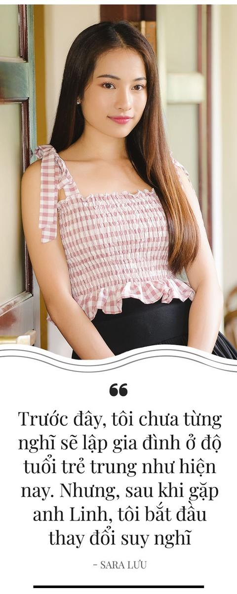 Sara Luu: '6 thang yeu Duong Khac Linh, toi da nghi toi hon nhan' hinh anh 15