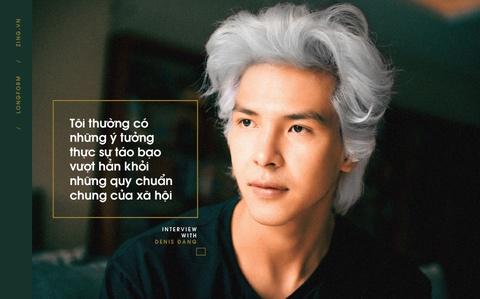 Denis Dang - 9X thich lam MV 'phan cam, tho tuc' cho ca si Viet hinh anh 5
