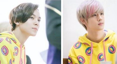 Khi 7 sao nam Kpop cùng diện một chiếc áo hoodie