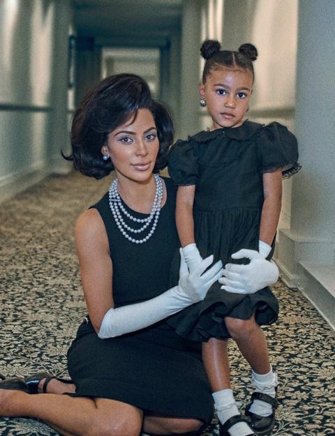Con gai 5 tuoi cua Kim Kardashian va Kanye to son do, ngay cang xinh hinh anh 10