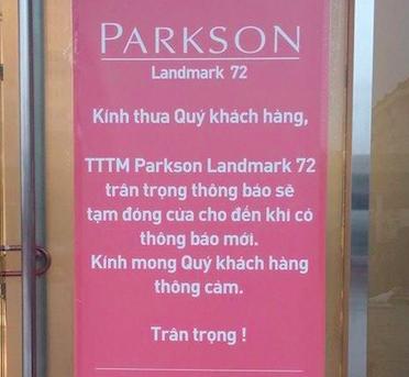 Parkson thong bao dong cua vo thoi han hinh anh