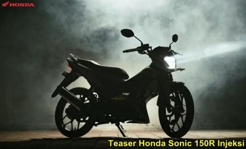 Doan Teaser quang cao Honda Sonic 150R  tai thi truong Indonesia hinh anh