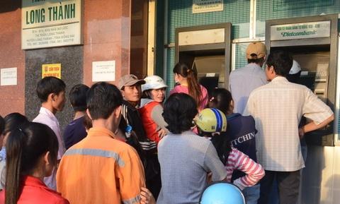 Hang loat may ATM Vietcombank tai Can Tho ngung hoat dong hinh anh