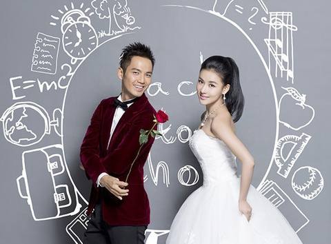 Kieu Phong va A Chau 2013 tung anh cuoi hinh anh