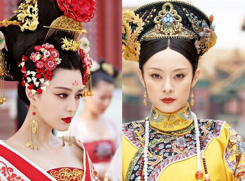 Do sac so tai 2 my nhan Chan Hoan va Vo Tac Thien hinh anh