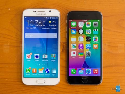 Voi S7, Samsung va Apple ngay cang giong nhau hinh anh