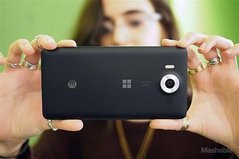 microsoft cho khong lumia 950 hinh anh