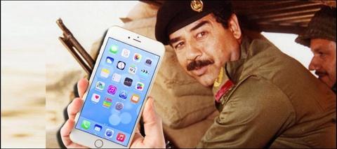 Bi lam Saddam Hussein, khach mua iPhone khong duoc hoan tien hinh anh