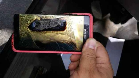 Samsung se giai thich ly do Note 7 phat no hinh anh