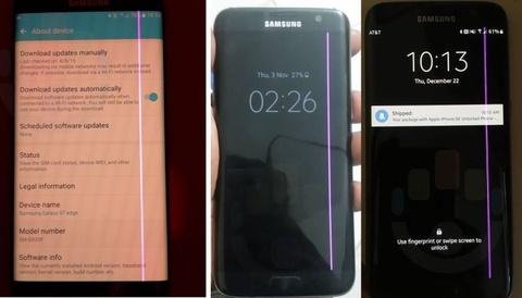 Galaxy S7 Edge loi man hinh soc hong hinh anh