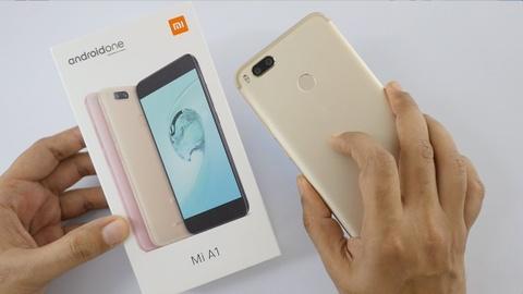 Trai nghiem nhanh Xiaomi Mi A1 hinh anh