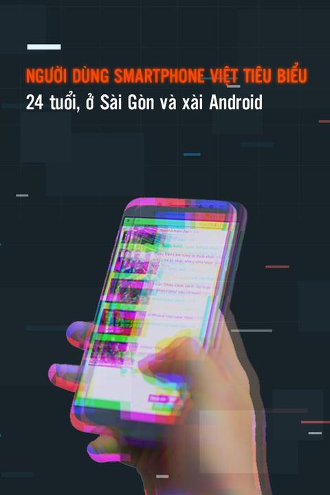 Nguoi dung smartphone Viet tieu bieu: 24 tuoi, o Sai Gon, xai Android hinh anh 1