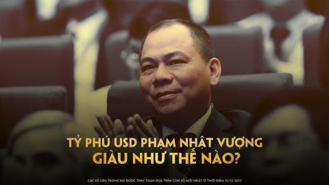 Cu mot phut, tai san cua ty phu Pham Nhat Vuong tang hon 4.500 USD hinh anh 2