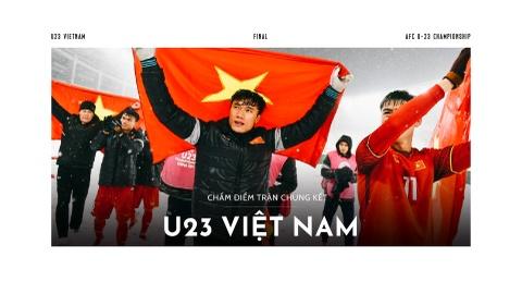 Cham diem U23 Viet Nam: Nguoi hung trong tim nguoi ham mo hinh anh 1
