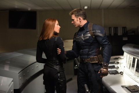 'Captain America 2' dot chay phong ve toan cau hinh anh