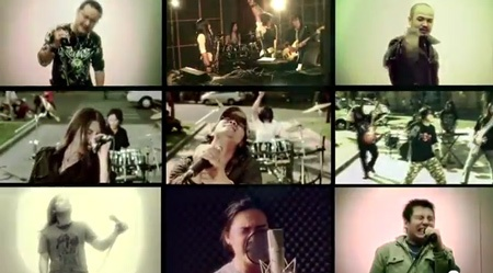 Noi vong tay lon cac rock band Viet hinh anh