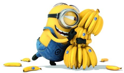 Banana- Despicable me hinh anh