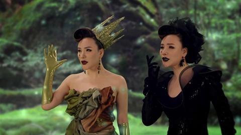 Hoa trang Halloween nhu sao Viet trong MV hinh anh