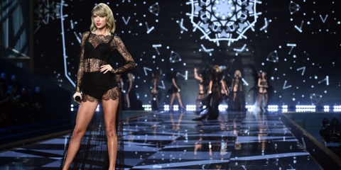 Taylor Swift la Thien than danh du cua Victoria's Secret hinh anh