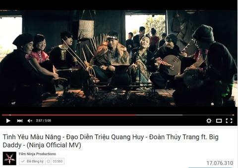 MV Tinh yeu mau nang - Doan Thuy Trang ft. BigDaddy hinh anh