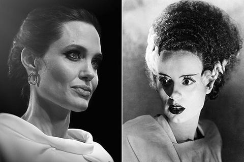 Angelina Jolie duoc chao vai quai vat hinh anh