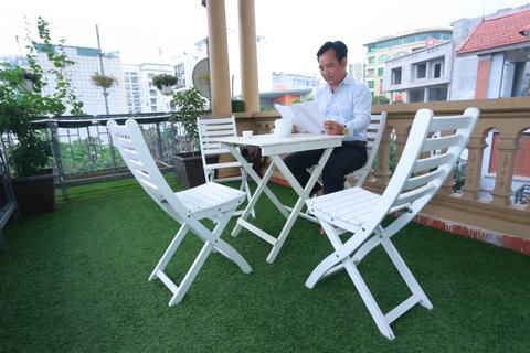 Tham nha rieng 26 m2 cua Quang Teo o Ha Noi hinh anh 8
