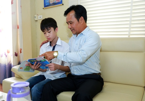 Tham nha rieng 26 m2 cua Quang Teo o Ha Noi hinh anh 1