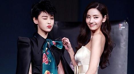 Truong Hinh Du ca tinh catwalk cung Han Chae Young hinh anh