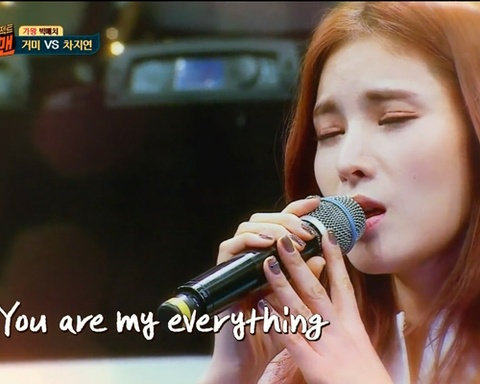 Gummy bieu dien You Are My Everything trong show Sugar Man hinh anh
