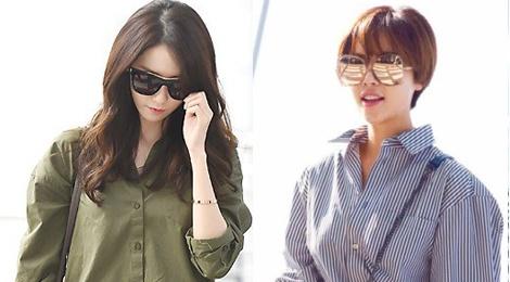 Yoona do thoi trang san bay voi sao 'Gia dinh la so 1' hinh anh
