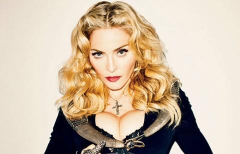 Madonna khoa than bo phieu bau tong thong My hinh anh