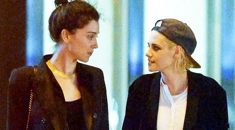 Kristen Stewart co ban gai moi hinh anh