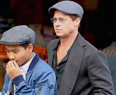 Brad Pitt lan dau gap Maddox sau cao buoc bao hanh hinh anh