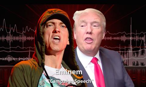 Eminem tung ca khuc moi da xoay Donald Trump hinh anh
