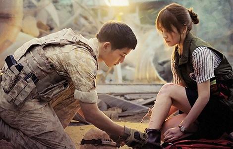 Song Hye Kyo va Song Joong Ki cuoi, KBS chieu lai 'Hau due mat troi' hinh anh