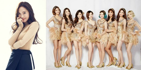 Jessica Jung co the se 'dung do' SNSD trong thang 8 hinh anh