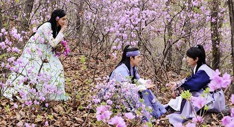 Yoona va Im Si Wan than thiet tai hau truong phim The King Loves hinh anh