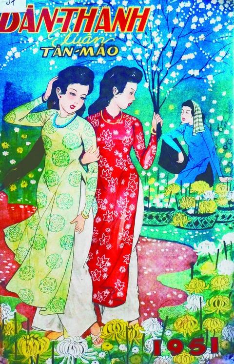 Bao Xuan Sai Gon xua: Giai pham va giai nhan hinh anh 3