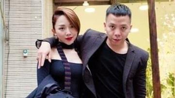 Vo chong Toc Tien - Hoang Touliver cung di tap gym hinh anh