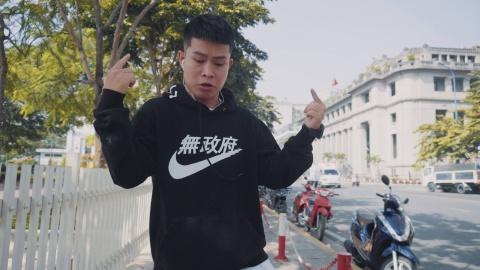 Chuyen chang rapper underground tung vo mong o Sai Gon hinh anh