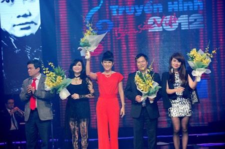 'Tieng hat truyen hinh 2014' chia bang theo the loai nhac hinh anh