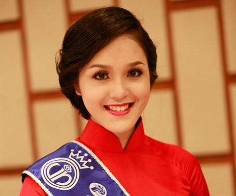 A hau Hoang Anh cham thi 'Duyen dang ban hang' hinh anh