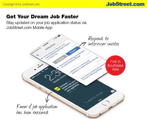 Tim viec nhanh hon voi ung dung JobStreet.com Mobile App hinh anh